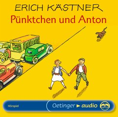 Pünktchen und Anton, 1 Audio-CD - Kästner, Erich