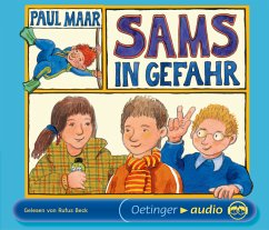 Sams in Gefahr / Das Sams Bd.5 (4 Audio-CDs) - Maar, Paul