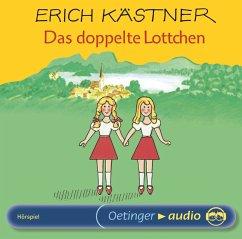 Das doppelte Lottchen, 1 Audio-CD - Kästner, Erich