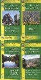 Topographische Karte Rheinland-Pfalz Naturpark Soonwald-Nahe, 4 Bl.