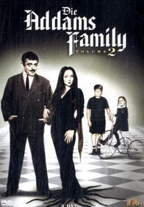 die addams family volume 2 3 dvds film auf dvd b. Black Bedroom Furniture Sets. Home Design Ideas
