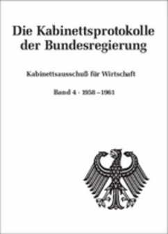 Kabinettsausschuß für Wirtschaft - Rössel, Uta (Hrsg.)