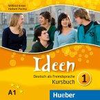 3 Audio-CDs zum Kursbuch / Ideen - Deutsch als Fremdsprache Bd.1