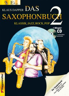 Version Eb (Altsaxophon), m. Audio-CD / Das Saxophonbuch Tl.2 - Dapper, Klaus