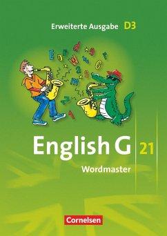 English G 21. Erweiterte Ausgabe D 3. Wordmaster - Neudecker, Wolfgang