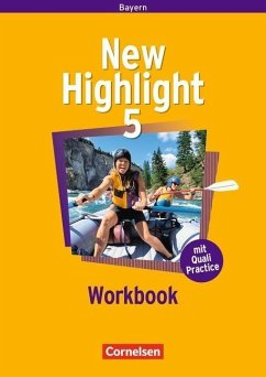New Highlight 5: 9. Jahrgangsstufe. Workbook. Bayern Bd.5 - Mare, Christina