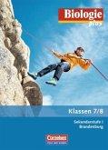 Klasse 7/8, Schülerbuch / Biologie plus, Ausgabe Sekundarstufe I Brandenburg