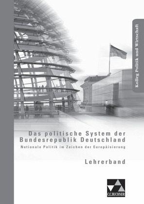 das politische system der bundesrepublik deutschland lehrerband schulb cher portofrei bei. Black Bedroom Furniture Sets. Home Design Ideas