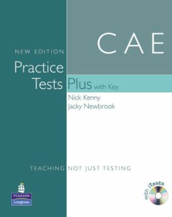 CAE Practice Tests Plus, New Edition, Book w. Key, CD-ROM
