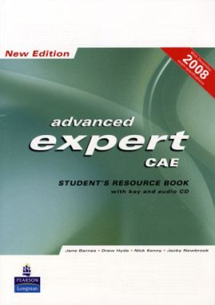 CAE Expert New Edition Students Resource Book with Key/Cd Pack - Barnes, Jane; Hyde, Drew; Kenny, Nick; Newbrook, Jacky