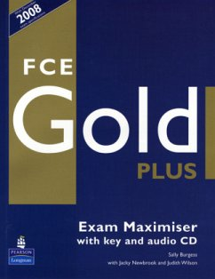 FCE Gold Plus Maximiser and CD and Key Pack - Burgess, Sally