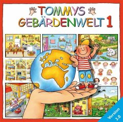 Tommys Gebärdenwelt V3.0. Tl.1, 1 CD-ROM
