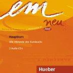 2 Audio-CDs zum Kursbuch / em neu 2008, Hauptkurs