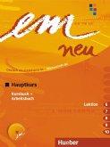 em neu 2008 Hauptkurs Kursbuch, Arbeitsbuch , Lektion 6 -10 mit Arbeitsbuch-Audio-CD