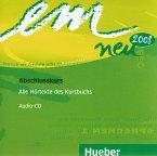 1 Audio-CD zum Kursbuch / em neu 2008, Abschlusskurs