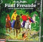 Fünf Freunde und das Phantom von Sherwood Forest / Fünf Freunde Bd.52 (1 Audio-CD)
