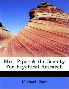 Mrs. Piper & the Society for Psychical Research