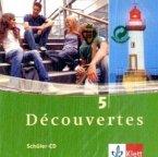 2 Schüler-Audio-CDs, 5. Lernjahr / Découvertes Bd.5