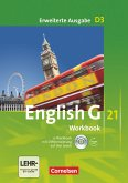 English G 21. Erweiterte Ausgabe D 3. Workbook mit e-Workbook und Audios online
