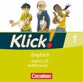5. Schuljahr, Audio-CD (Vollfassung) / Klick! Englisch Bd.1