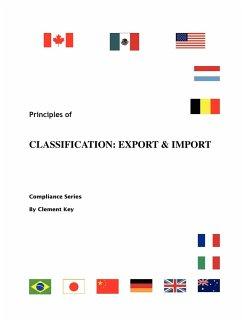 Principles of Classification: Export & Import - Key, Clement M.
