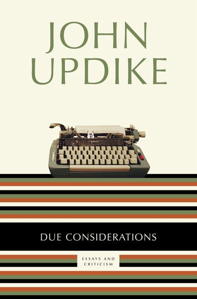 John updike's non-fiction essays