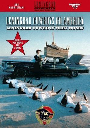 leningrad cowboys go america leningrad cowboys meet moses 2 dvds auf dvd portofrei bei. Black Bedroom Furniture Sets. Home Design Ideas