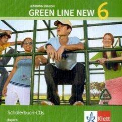 2 Schülerbuch-Audio-CDs, 10. Schuljahr / Green Line New, Ausgabe für Bayern Bd.6