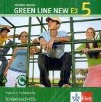 2 Schülerbuch-Audio-CDs, 5. Lernjahr / Green Line New (E2) Bd.5