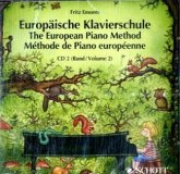 Europäische Klavierschule, Deutsch-Englisch-Französisch. The European Piano Method. Methode de Piano europeenne. Vol.2, 1 Audio-CD