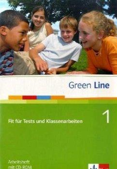 Green Line 1. Fit für Tests und Klassenarbeiten. Arbeitsheft und CD-ROM mit Lösungsheft - Horner, Marion