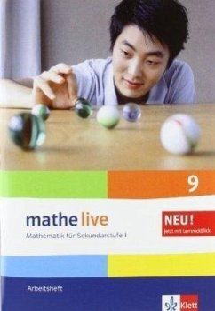 mathe live. Arbeitsheft mit Lösungsheft 9. Schuljahr. Allgemeine Ausgabe