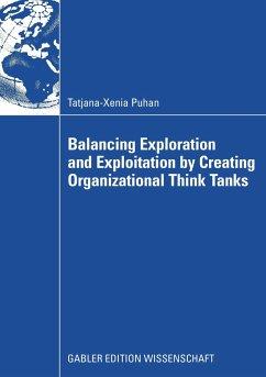 Balancing Exploration and Exploitation by Creating Organizational Think Tanks - Puhan, Tatjana-Xenia