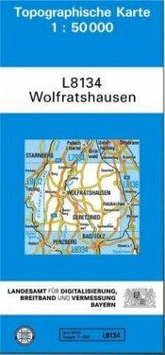 Landesamt Für Digitalisierung, Vermessung Bayern Topographische Karte Bayern Wolfratshausen