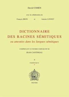 9789042907416 - Cohen, D. Cohen Ad Cohen, Nick: Dictionnaire Des Racines Semitiques Ou Attestees Dans Les Langues Semitiques, Fasc. 8 - Boek