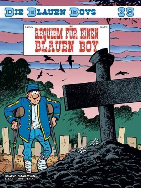 Die blauen Boys 29. Requiem für einen Blauen Boy - Cauvin, Raoul; Lambil, Willy