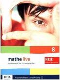 mathe live. Arbeitsheft mit Lösungsheft und Lernsoftware 8. Schuljahr. Allgemeine Ausgabe