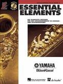 Essential Elements, für Altsaxophon in Es, m. Audio-CD