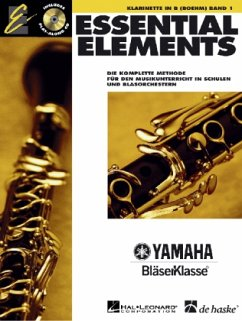 Essential Elements, für Klarinette in B (Boehm), m. Audio-CD