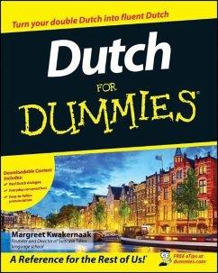 Dutch For Dummies - Kwakernaak, Margreet