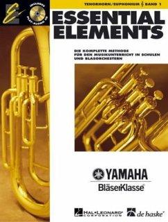 Essential Elements, für Tenorhorn/Euphonium in B (TC), m. Audio-CD