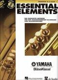 Essential Elements, für Trompete in B, m. Audio-CD