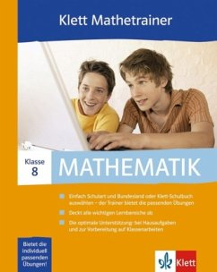 Klett Mathetrainer, 8. Klasse, 1 CD-ROM