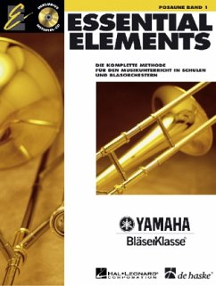 Essential Elements, für Posaune, m. Audio-CD