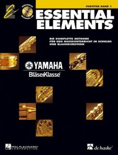 Essential Elements, Partitur, m. Audio-CD