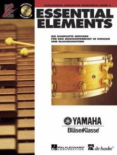 Essential Elements, für Schlagzeug (inkl. Stabspiele), m. 2 Audio-CDs