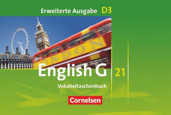 English G 21. Erweiterte Ausgabe D 3. Vokabeltaschenbuch Bd.3