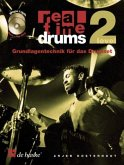 Real Time Drums, m. 2 Audio-CDs