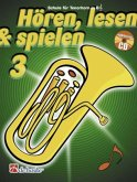 Hören, lesen & spielen, Schule für Tenorhorn / Euphonium in B (TC), m. Audio-CD