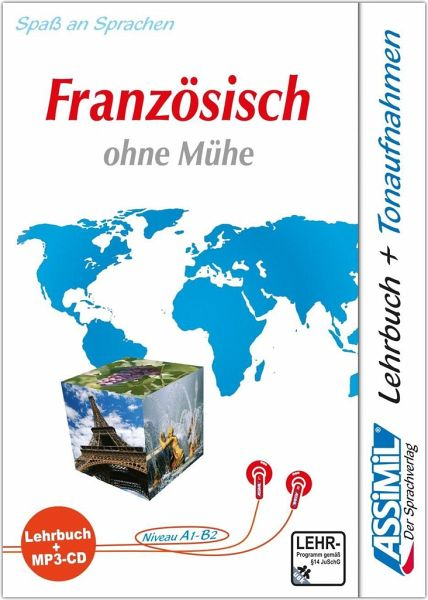 lehrbuch und 1 mp3 cd assimil franz sisch ohne m he h rb cher portofrei bei b. Black Bedroom Furniture Sets. Home Design Ideas